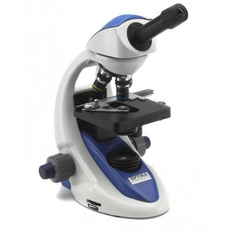 Microscopio Monocular LED con Bateria