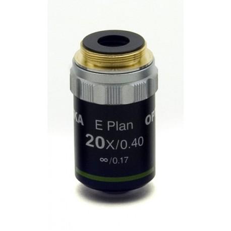 Objetivo plano acromático 20x IOS