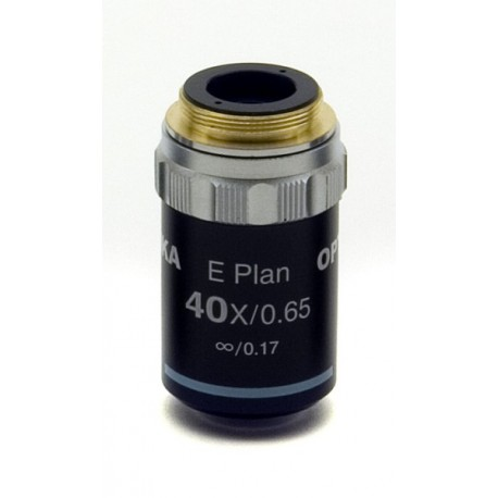 Objetivo plano acromático 40x IOS