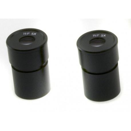 Oculares (pareja) WF5x/22mm