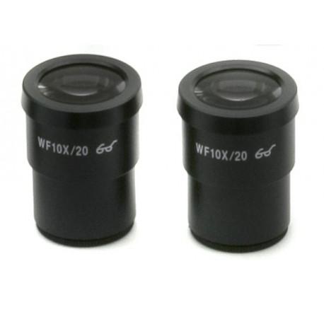 Ocular (pareja) WF10x/20 mm