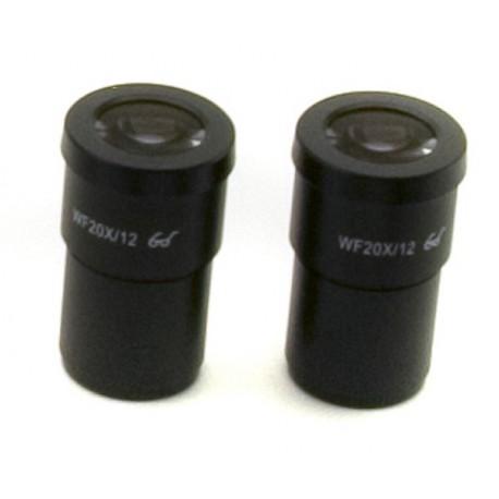 Ocular (pareja) WF20x/12mm
