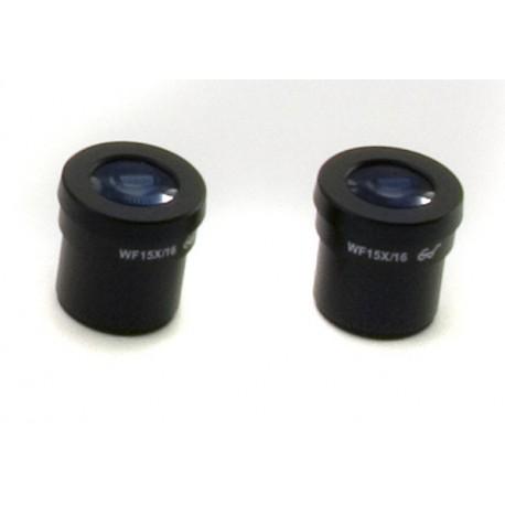 Ocular (pareja) WF15x/16mm