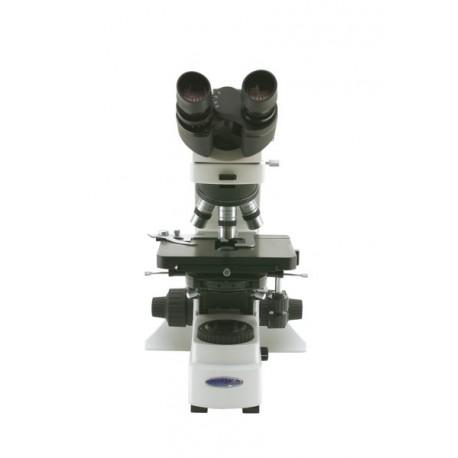 Microscopio binocular, objetivos plan IOS 4x, 10x, 20x 40x, 100x