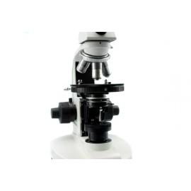 Microscopio monocular de polarización
