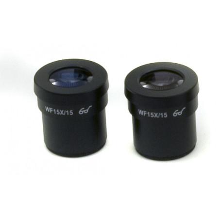 Ocular (pareja) WF15x/15 mm