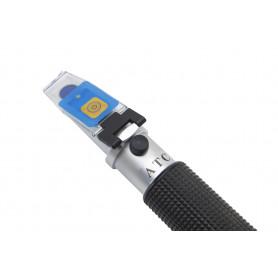 Refractómetro portátil, 0-28%, para salinidad