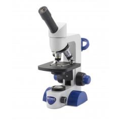 B-61 Microscopio monocular,400x, objetivos acromáticos
