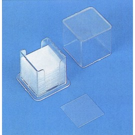V689.1 Conjunto de 200 cristales cubre objeto 18x18mm.