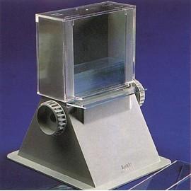 Distribuidores de cristales porta preparados.