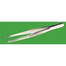 Pinzas de punta roma.120mm,acero inox.
