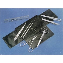 15050 Equipo de utensilios para microscopia