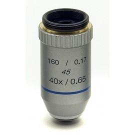 Objetivo acromático 40x