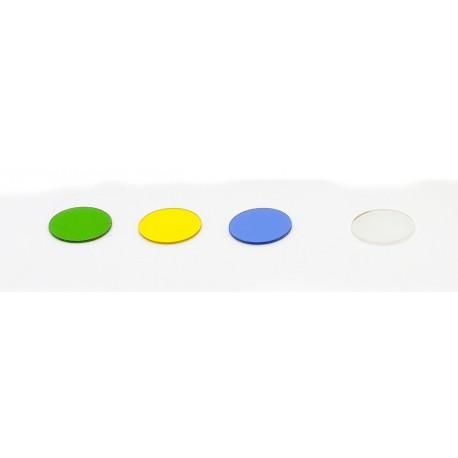 Filtro azul, 32 mm diametro