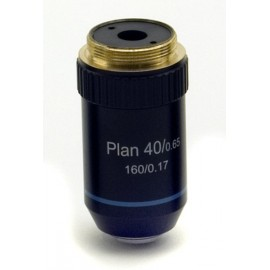 M-510 Objetivo plano acromático 40x