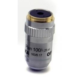 M-325 Objetivo plano acromático 100x