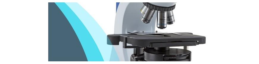 Microscopios de laboratorio para profesionales