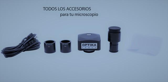 Accesorios para Microscopia